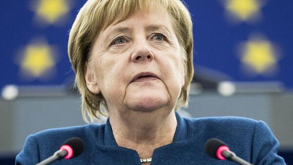 Merkelová uvedla termíny vstupu Ukrajiny do EU, prohlásili v Kyjevě - Sputnik Česká republika