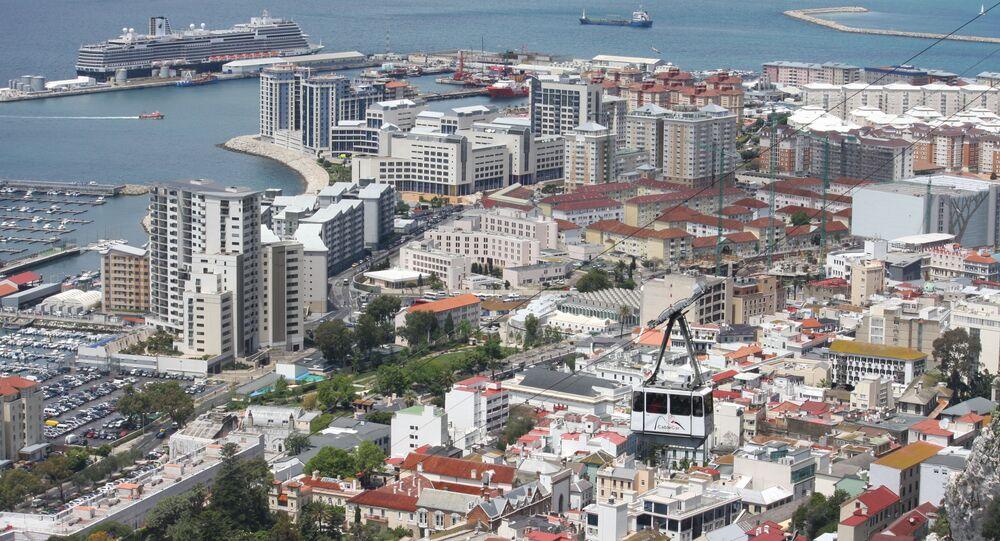Pohled na Gibraltar