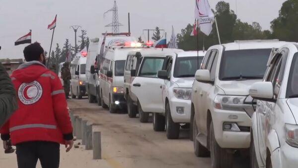 Bylo zveřejněno video zachycující výměnu rukojmích v Sýrii - Sputnik Česká republika