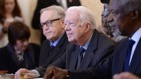 Bývalý americký prezident Jimmy Carter - Sputnik Česká republika