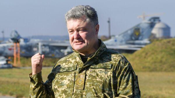 Petro Porošenko - Sputnik Česká republika