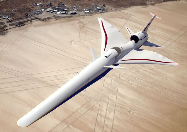 Nadzvukové letadlo X-59 QueSST