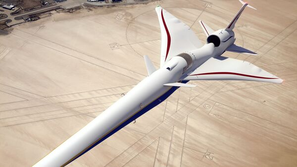 Nadzvukové letadlo X-59 QueSST - Sputnik Česká republika