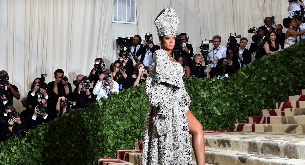 Zpěvačka Rihanna