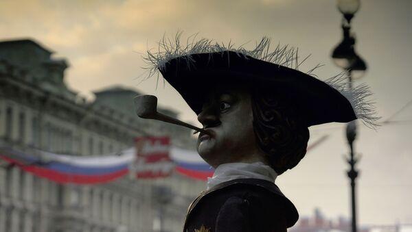 Figurína Petra I. v Petrohradu - Sputnik Česká republika