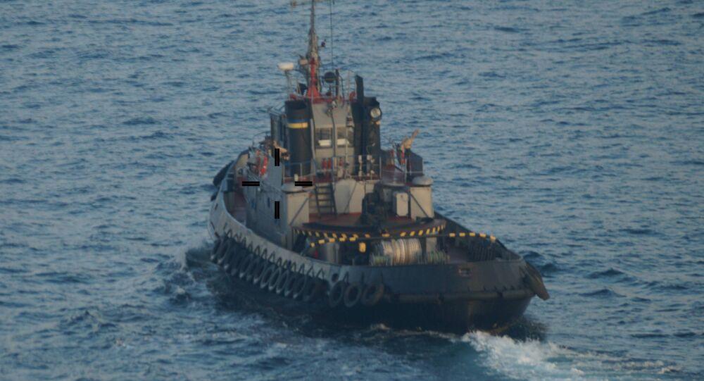 Tři lodě ukrajinského námořnictva překročily hranice Ruska