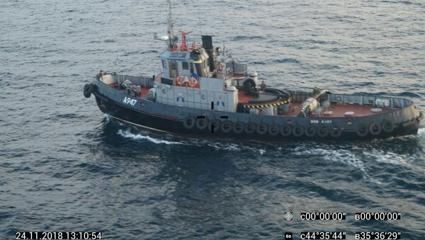 Tři lodě ukrajinského námořnictva vpluly do teritoriálních vod RF - Sputnik Česká republika