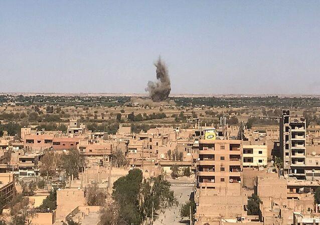 Provincie Dajr az-Zaur v Sýrii. Ilustrační foto