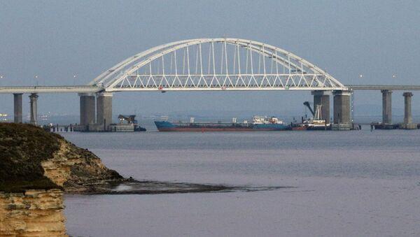 Kerčský průliv, spojnice Černého a Azovského moře - Sputnik Česká republika