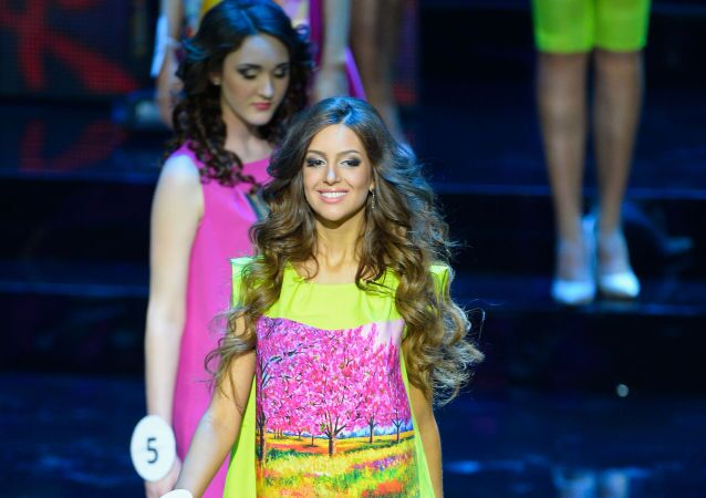 Miss Moskva Oxana Vojevodinová