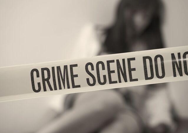 Dívka na místě zločinu
