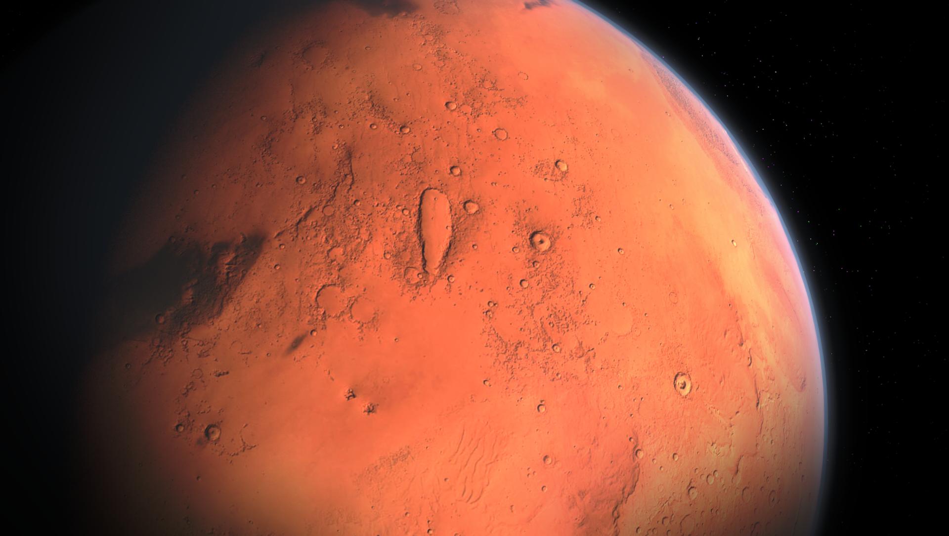 Planeta Mars - Sputnik Česká republika, 1920, 09.02.2021