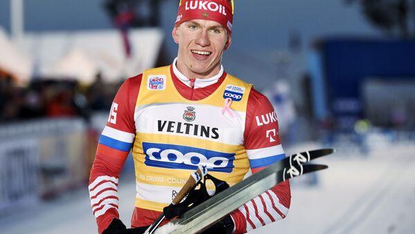 Ruský běžec na lyžích Alexandr Bolšunov - Sputnik Česká republika