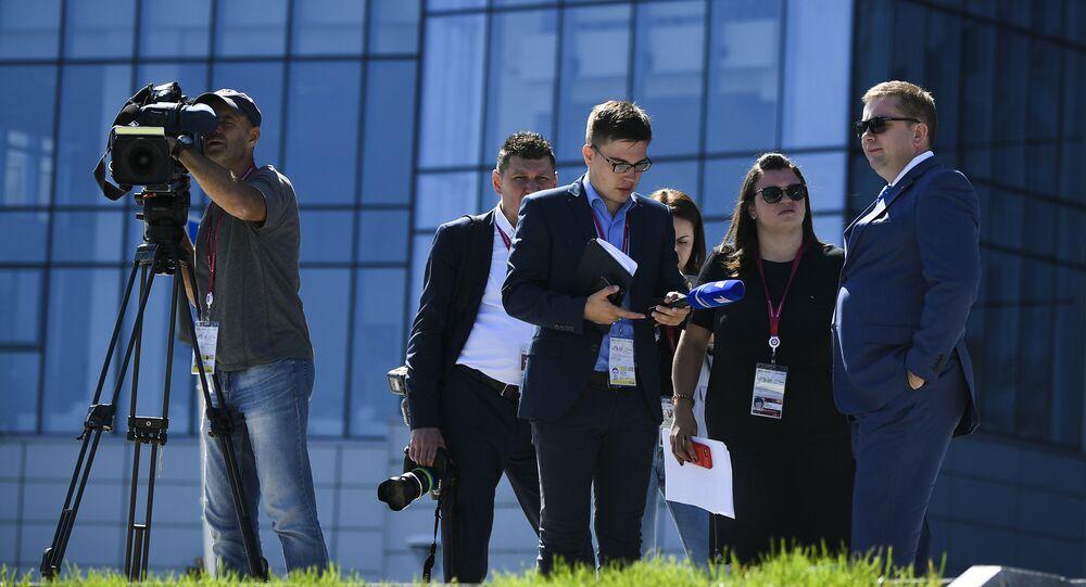Novináři. Ilustrační foto