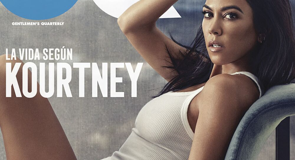 """Účastnice americké reality show """"Držte krok s Kardashians"""" Kourtney Kardashianová"""