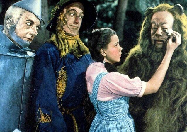 Záběry z filmu Čaroděj ze země Oz
