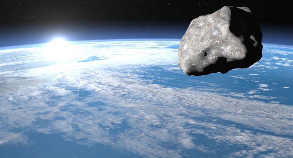 Asteroid v blízkosti Země