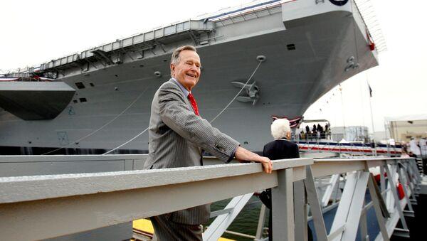 Čtyřicátý první prezident Spojených států amerických George Bush starší - Sputnik Česká republika