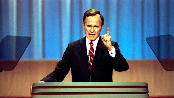 Ve věku 94 let zemřel George H. W. Bush, bývalý 41. americký prezident - Sputnik Česká republika