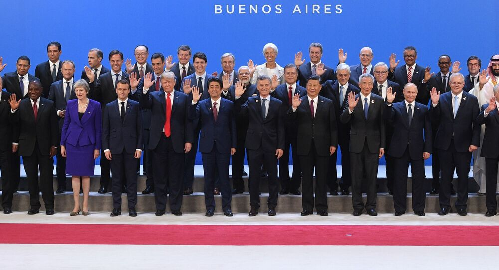 Účastníci summitu v Argentině