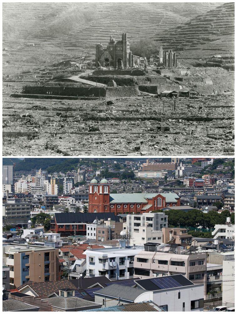Hirošima a Nagasaki ve srpnu r. 1945 a 70 let poté