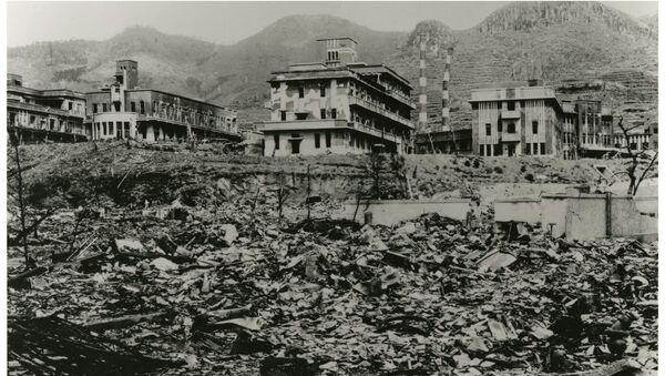 Lékařská college Nagasaki po bombardování 9. srpna r. 1945 a dnes - Sputnik Česká republika