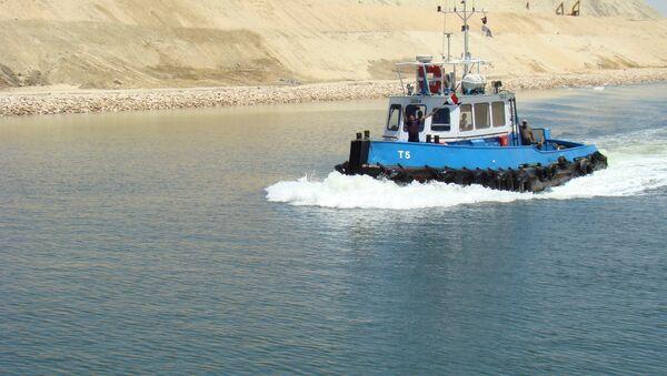 Nový kanál Suezského průplavu - Sputnik Česká republika