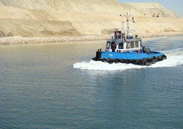 Nový kanál Suezského průplavu