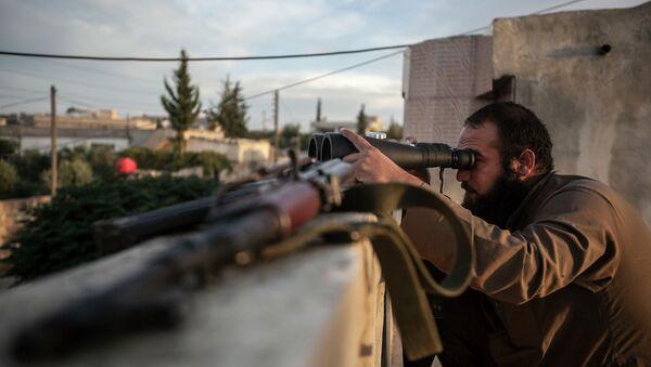 Voják syrské opozice - Sputnik Česká republika