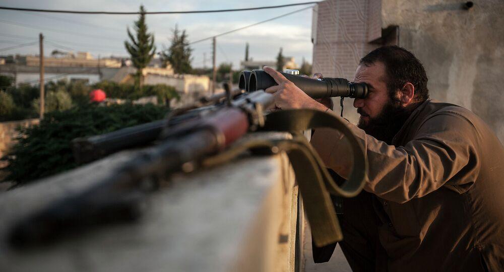 Voják syrské opozice