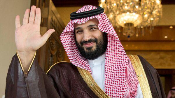 Korunní princ Saúdské Arábie Mohamed bin Salmán - Sputnik Česká republika
