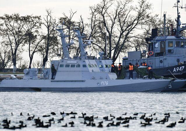 Ukrajinské lodě zadržené za porušení ruské hranice