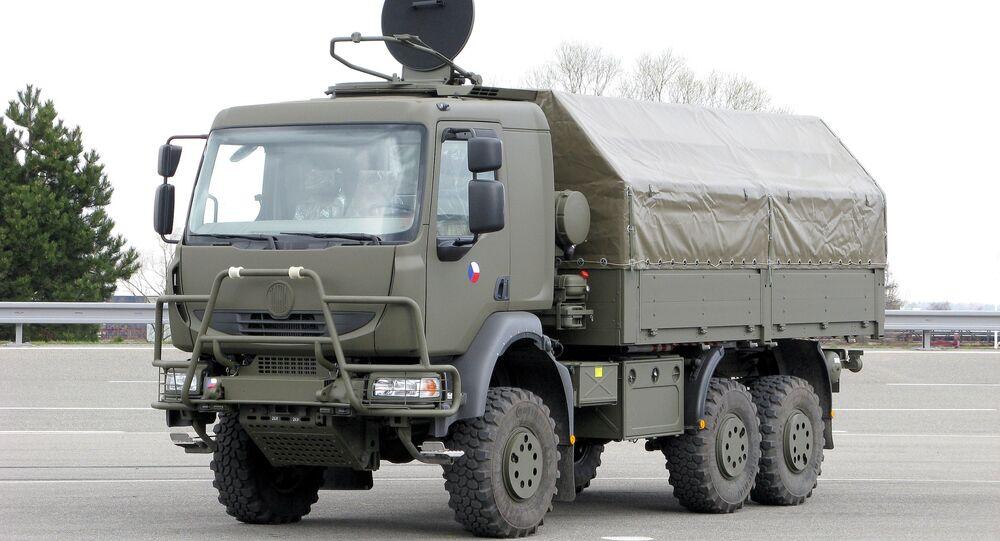 Nákladní automobil Tatra T-810 ve službě Armády ČR