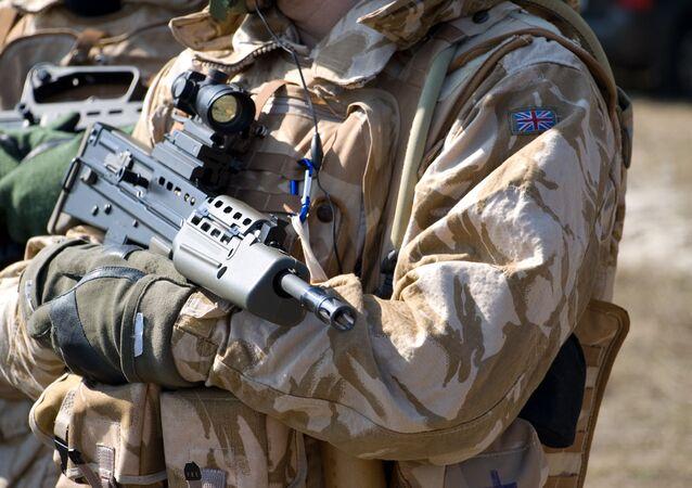Voják britské armády