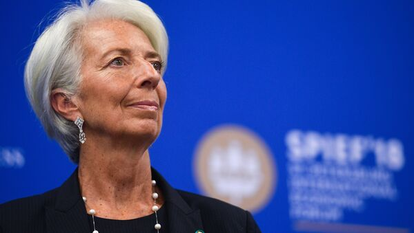 Hlava MMF Christine Lagardeová - Sputnik Česká republika