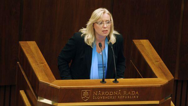 Bývalá premiérka SR Iveta Radičová - Sputnik Česká republika