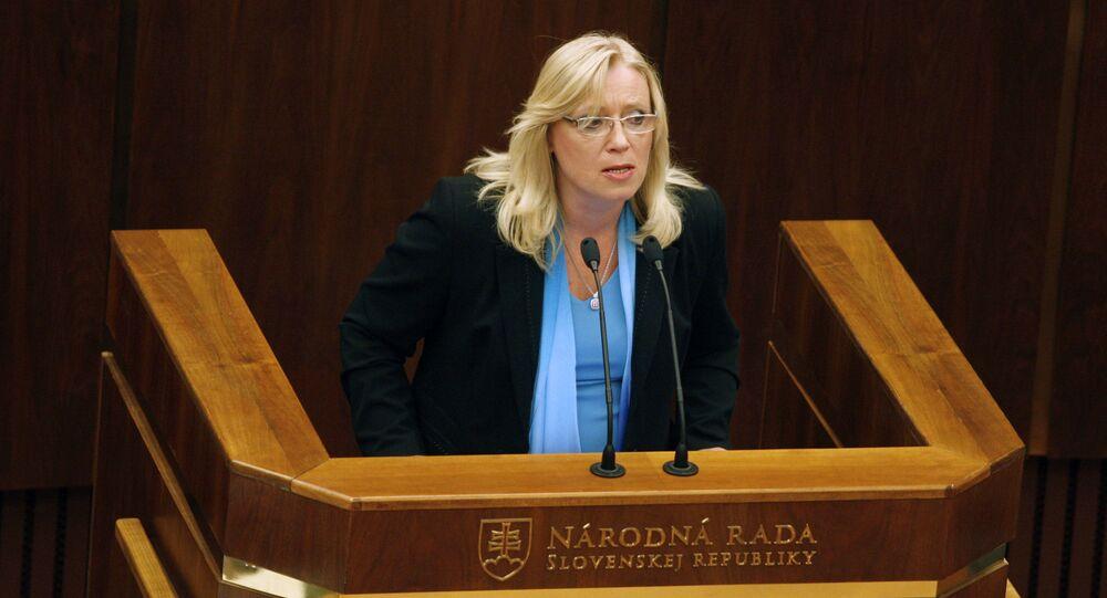 Bývalá premiérka SR Iveta Radičová
