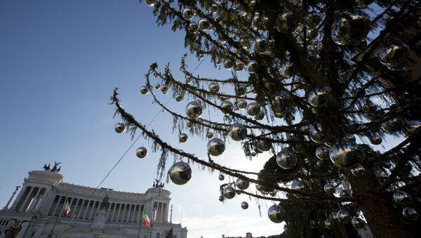 Benátské náměstí (Piazza Venezia) v Římě - Sputnik Česká republika