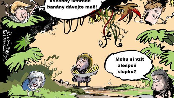 Politická aréna džungle - Sputnik Česká republika