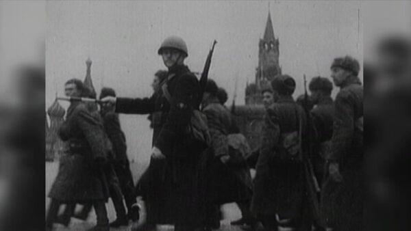 77. výročí útoku sovětské armády u Moskvy - Sputnik Česká republika