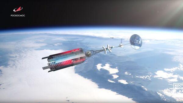 Kosmická loď s jaderným pohonem - Sputnik Česká republika
