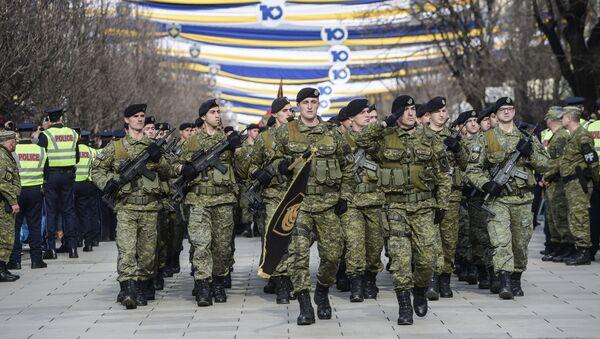 Příslušníci Ozbrojených sil Kosova - Sputnik Česká republika