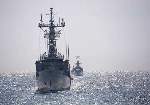 Lodě NATO v Černém moři