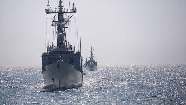 Lodě NATO v Černém moři. Ilustrační foto - Sputnik Česká republika