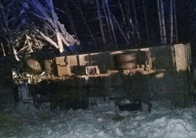 Nehoda v Irkutské oblasti