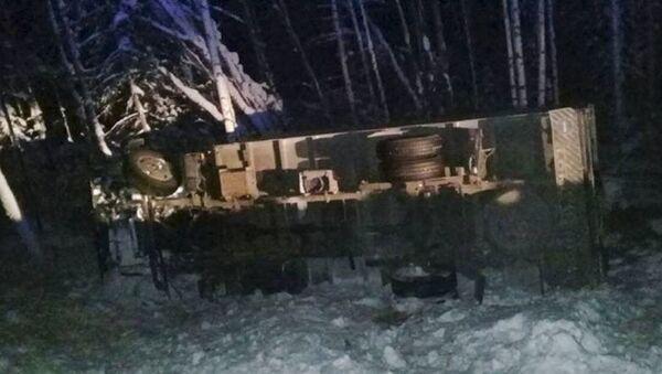Nehoda v Irkutské oblasti - Sputnik Česká republika