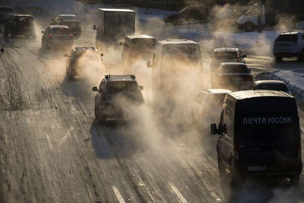 30 stupňů pod nulou. V ruském Novosibirsku uhodily první mrazy - Sputnik Česká republika