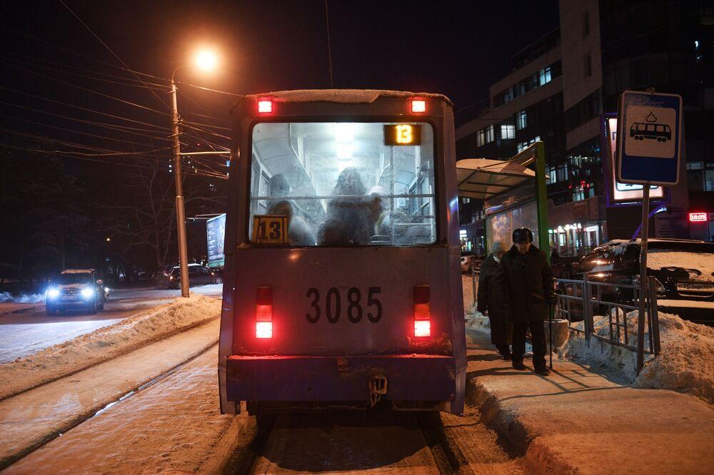30 stupňů pod nulou. V ruském Novosibirsku uhodily první mrazy