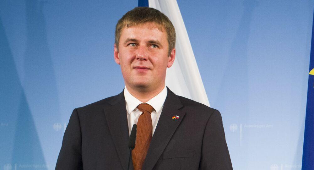 Český ministr zahraničí Tomáš Petříček