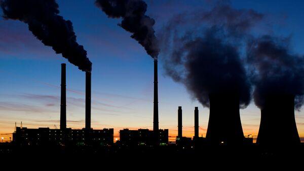 Uhelná elektrárna. Ilustrační foto - Sputnik Česká republika